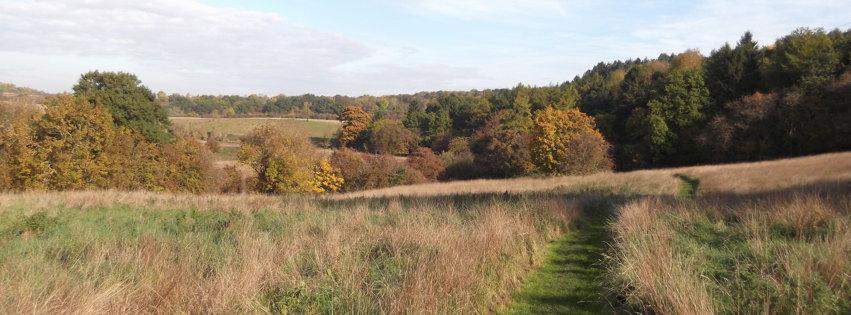 Jurassic Way walking route in Duddington Parish